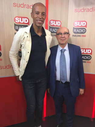 Interview | Stéphane Diagana chez Sud Radio vendredi 20 septembre 2019