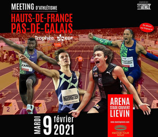 Athlétisme | Suivez la retransmission du meeting de Liévin ce mardi 9 février