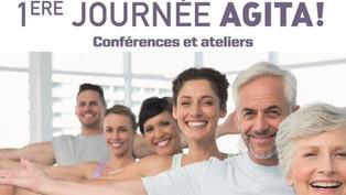 Conférence   Stéphane DIAGANA présent pour l'association Azur Sport Santé