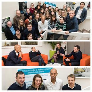 Partenariat   Stéphane DIAGANA partenaire actif chez NUTRISENS !