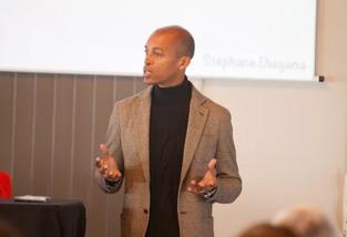 Conférence | Stéphane Diagana, intervenant au Congrès national de l'innovation