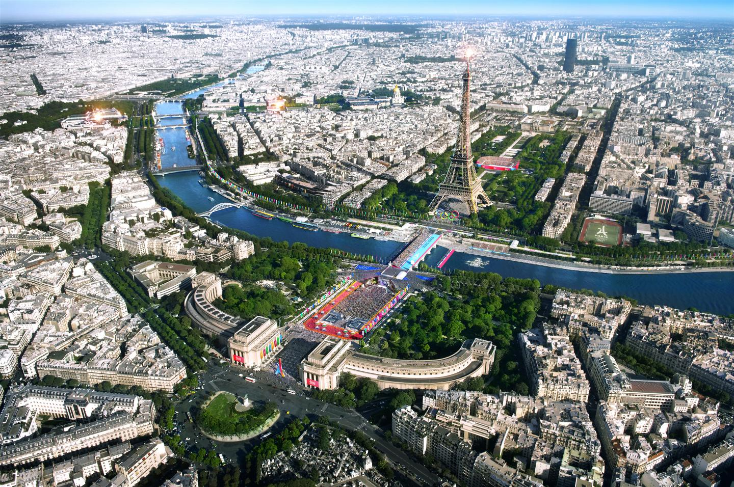 Paris 2024 - Parc olympique