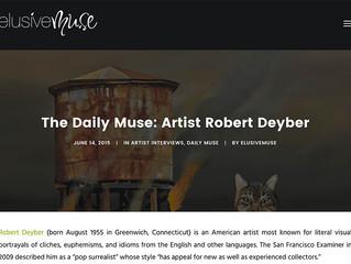 Elusive Muse: Artist Robert Deyber