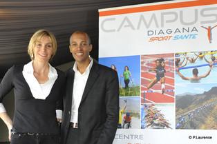 La Calanquaise | Stéphane Diagana parrain de la 4e édition