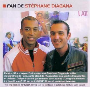 Événement | Stéphane Diagana salue les exploits de Fabrice Huré
