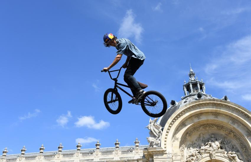 Voltiges au Petit Palais