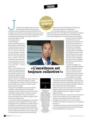 Presse | Stéphane DIAGANA signe sa tribune chez ACTION CO