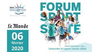Stéphane Diagana parrain du forum Sport et Santé
