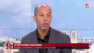 Interview | Stéphane DIAGANA au 13h de France 2 pour le sport-santé