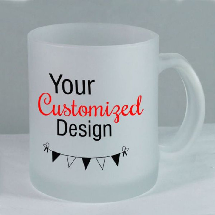 Printable Frosted 11OZ MUG SULIMATION COATED