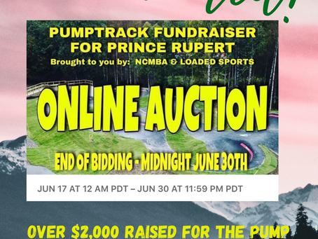 Online Auction Complete!
