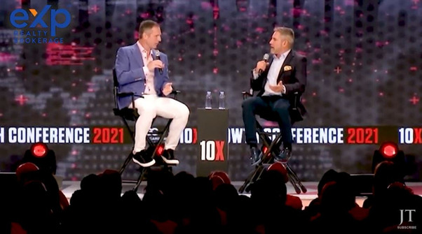 Grant Cardone Interviews Glenn Sanford, Founder of eXp Realty   10X Growth Conference 2021