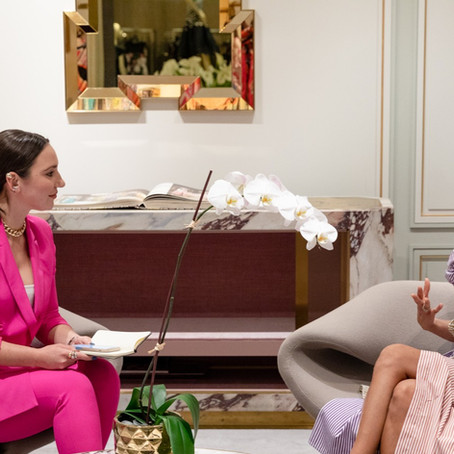 Anna Ruiz conversation with Roopal Patel, Fashion Director of Saks Fifth avenue