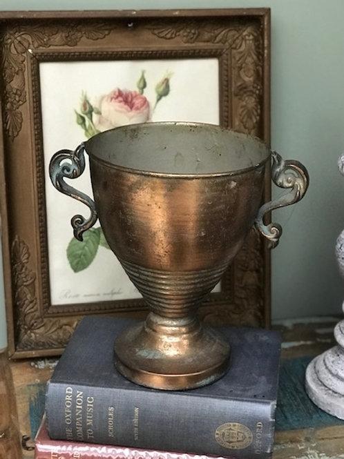 Scroll Metal Flower Urn