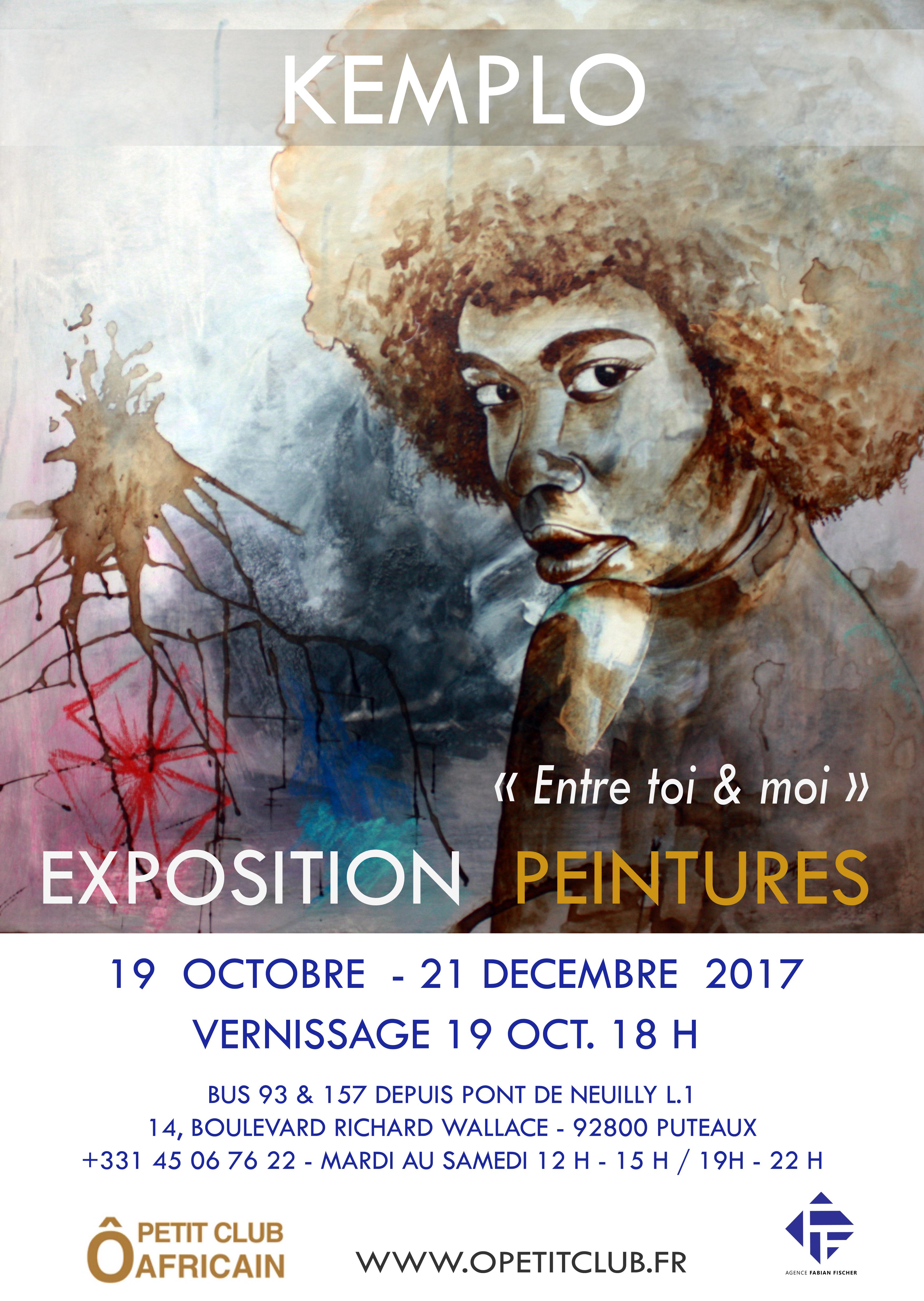 Affiche expo entre toi et moi  France 2017