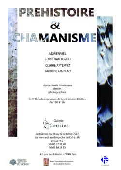 AFFICHE_exposition_Préhistoire_et_Chamanisme