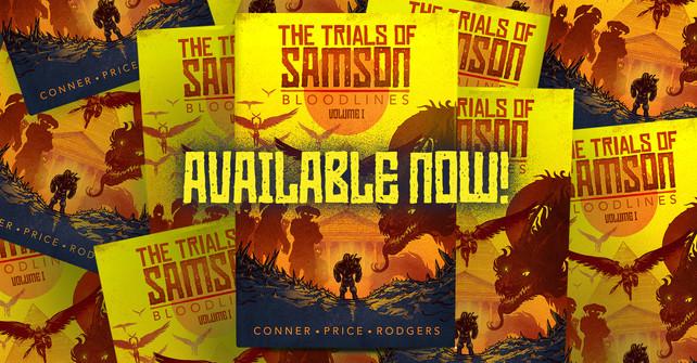 TRIALS OF SAMSON NOVEL