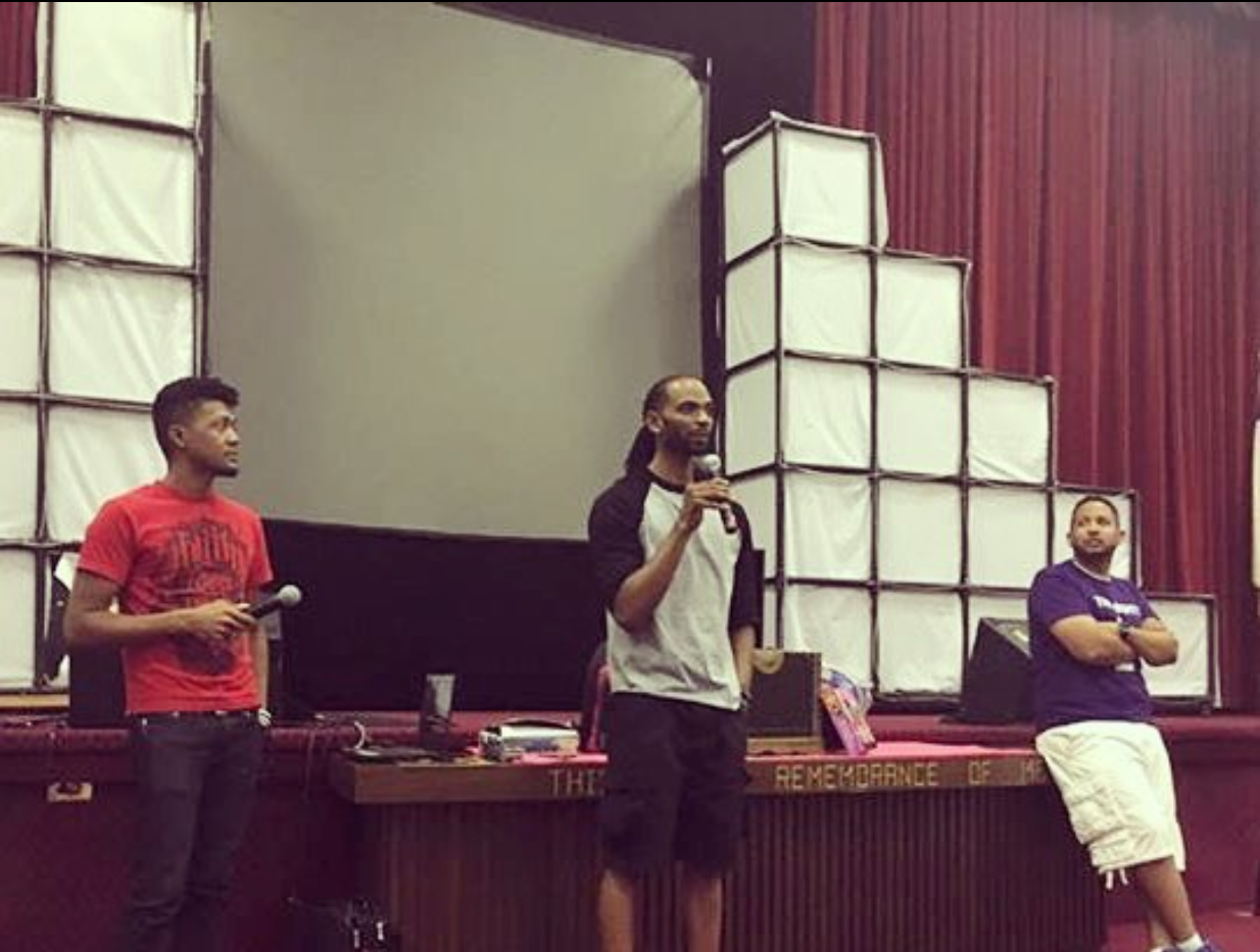 Speaking at Film Screening / Book Release Party