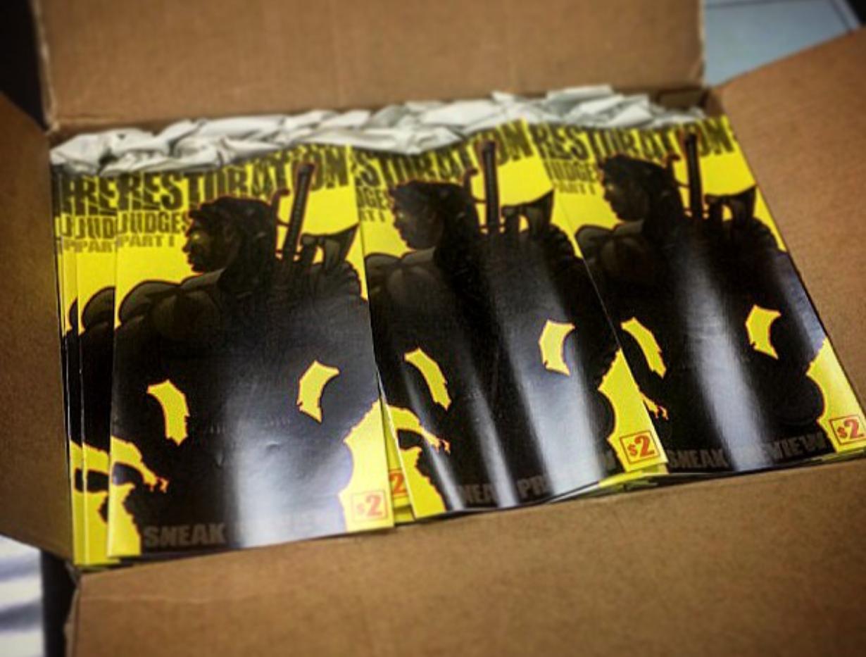 First shipment of Restoration books!!!