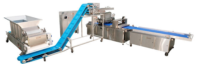 Dough Line With Product Handling Equipment