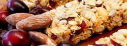 Granola Bar and Ingredients