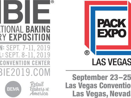 Two Chances to See Egan Food Technologies in Las Vegas this September