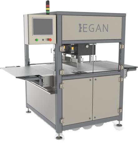 Egan Food Technologies' Servo Bar Cutter