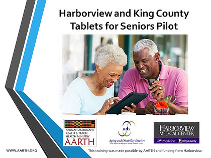 Harborview and King County Tablets for S