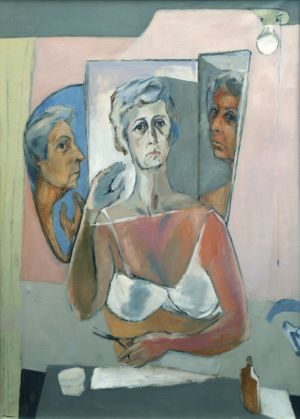 Self-Portrait with Scissors (1965)