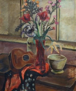 Tulips with Ukulele (1930)