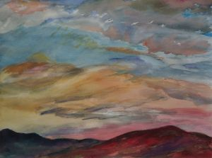 Pink Sky Over Red Mountain (1988)
