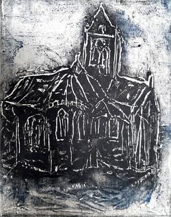 « L'église d'Auvers-sur-oise » 2021