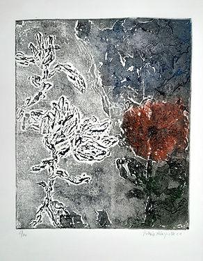 La promesse des fleurs - gravure - 48 x