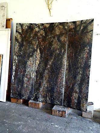 Fabrice Rebeyrolle, Selva Oscura, Atelier du Limon 2011