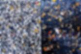 Solstice - Diptyque 36 x 40 cm - 2015