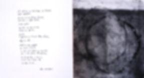 Pour ce nom perdu au coeur de soi - Livre d'artiste sur un poème de A. Maumejean - 2016