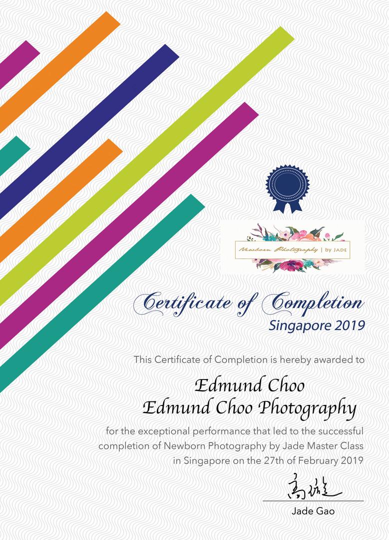 Certified Newborn Photographer