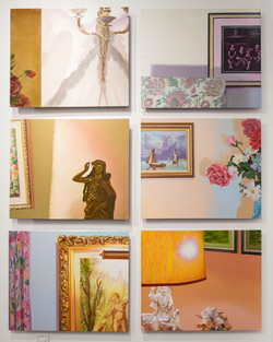 """""""Living Room"""" Paintings"""