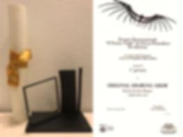 2018 이탈리아 밀라노 제9회 'Il Teatro Nudo di Teresa pomodoro' 오리지널 드로잉쇼 관객상 수상[출처] 2018 이탈리아 밀라노 제9회 'Il Teatro Nudo di Teresa pomodoro' 오리지널 드로잉쇼 관객상 수상