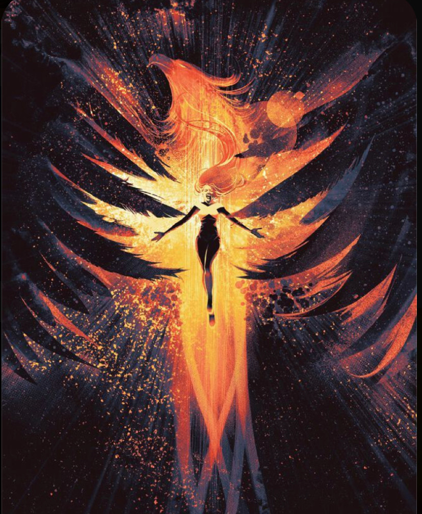 Pheonix and a woman