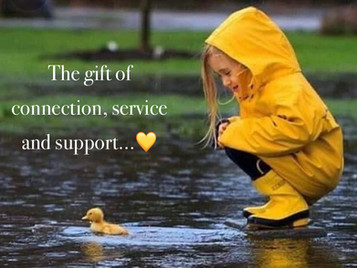 The gift of connection, service and support