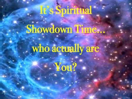 Its a Spiritual Showdown