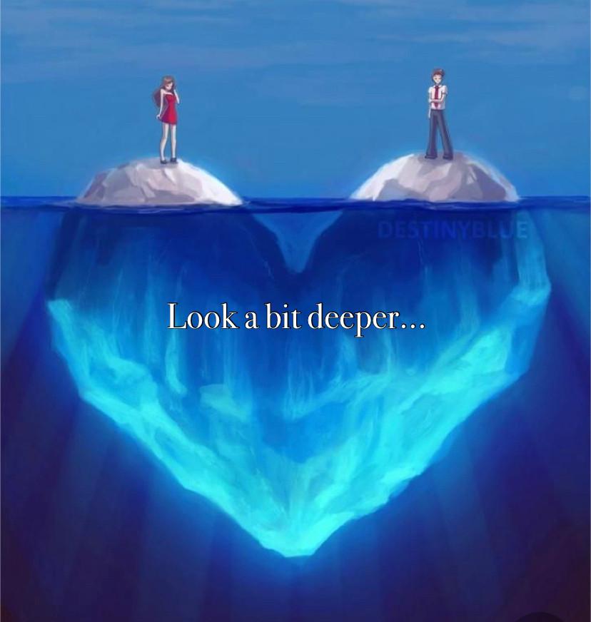 Look a bit deeper