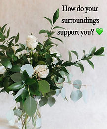 Day 6 Tip - How do your surroundings support you?