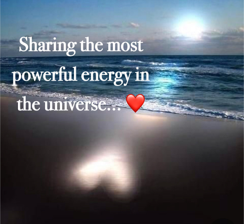 Sharing the most powerful energy in the universe