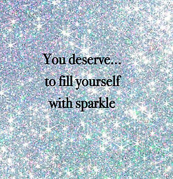 Day 3 Tip - Fill Yourself With Sparkle!