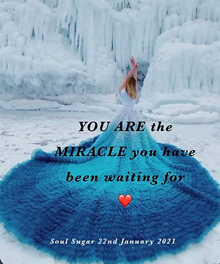 You are the miracle you have been waiting for...❤️