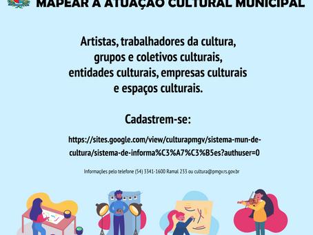 Prefeitura de Getúlio Vargas quer mapear a atuação cultural municipal