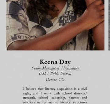 "Keena recognized as one of ""100 Black Educators of Colorado"" in the My Black Colorado Magazine!"