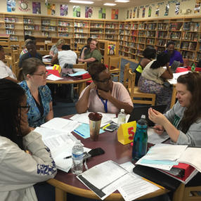 PD on content area literacy